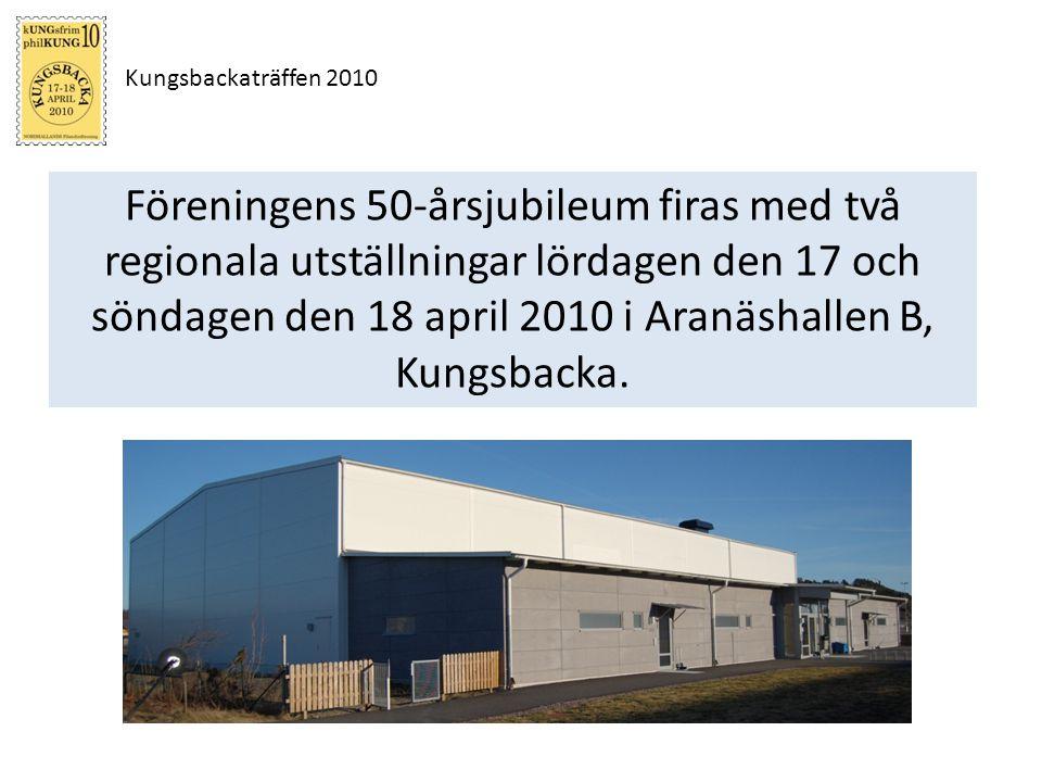Kungsbackaträffen 2010 kUNGsfrim 10 Minst 40 ramsidor Eget reglemente Ungdomsutställningen