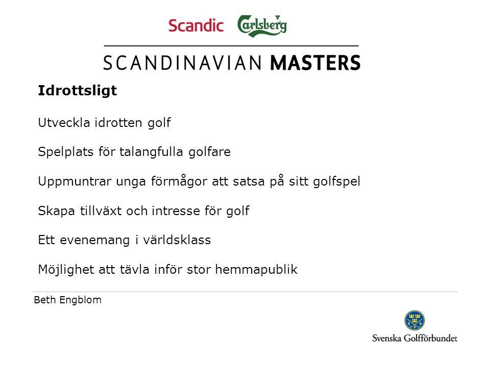Publik Sverige har den bästa golfpubliken i världen!!.