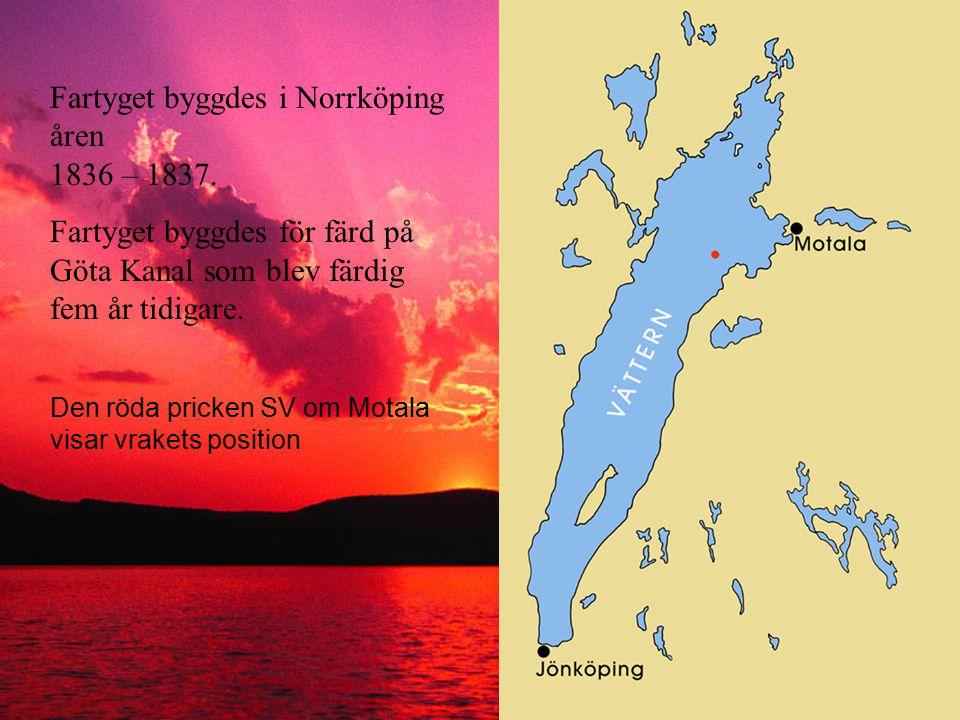 Där, på 45 meters djup, fann två amatördykare det välbevarade fartyget i början på 1980-talet. Deras fynd fick naturligtvis stor uppmärksamhet och Sjö