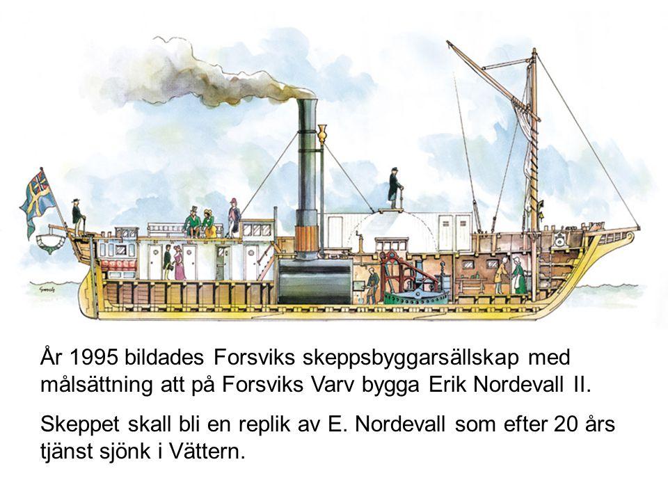 E. Nordevall och dess systerskepp utgjorde en revolutionär ändring i det svenska transport- och kommunikationsväsendet då de möjliggjorde en noggrann