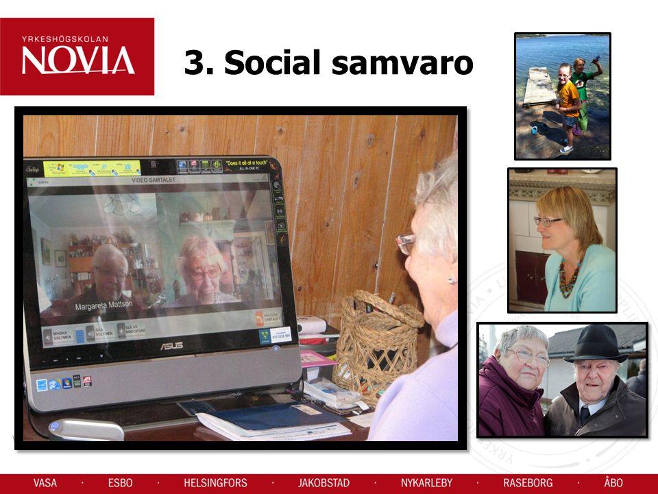 3. Social samvaro