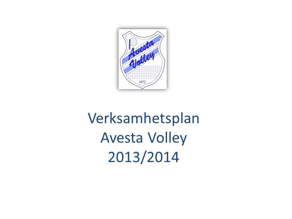 Verksamhetsplan Avesta Volley 2013/2014