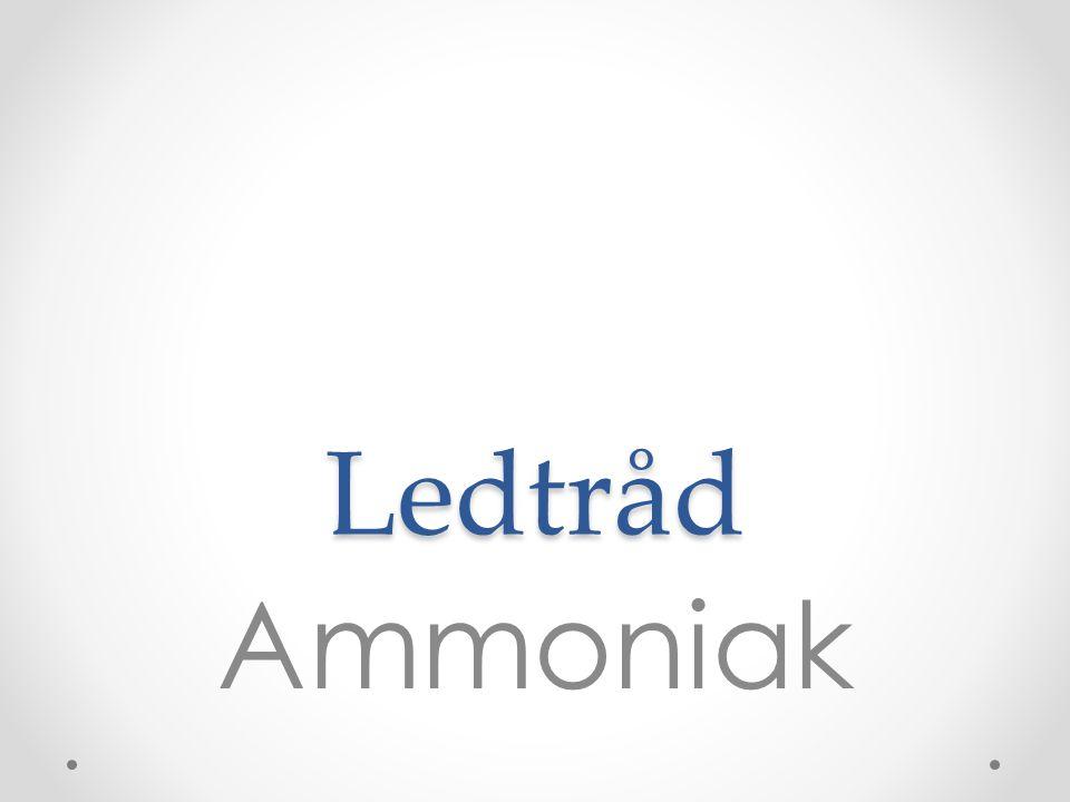 Ledtråd Ammoniak