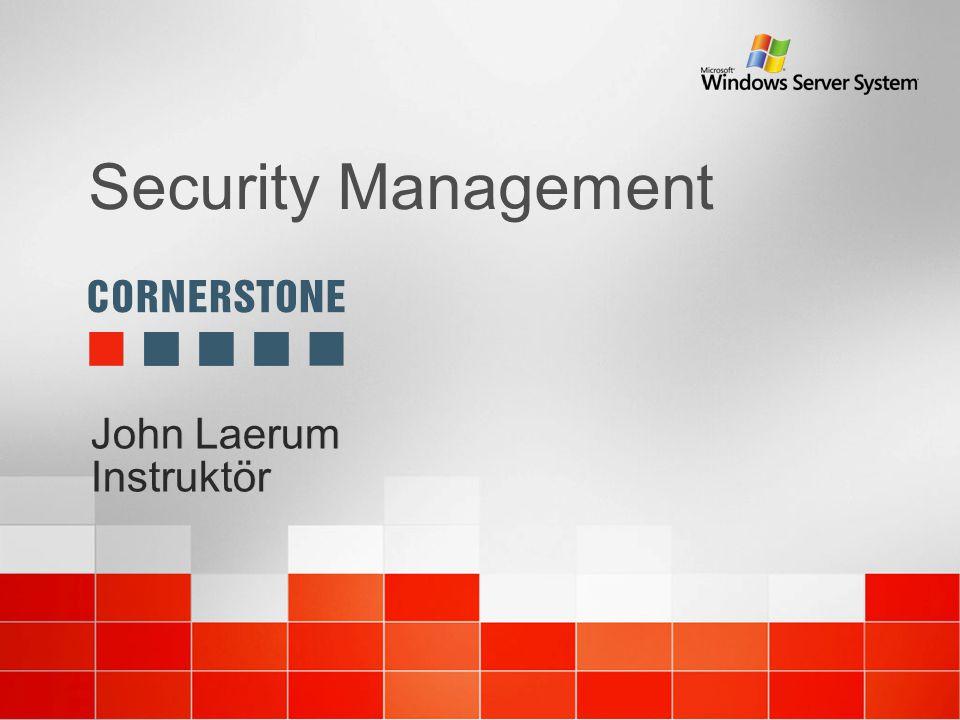 Upprätthålla säkerhetsnivån Group Policies i Active Directory IIS Lockdown tool och IIS 6 VPN karantän i RAS