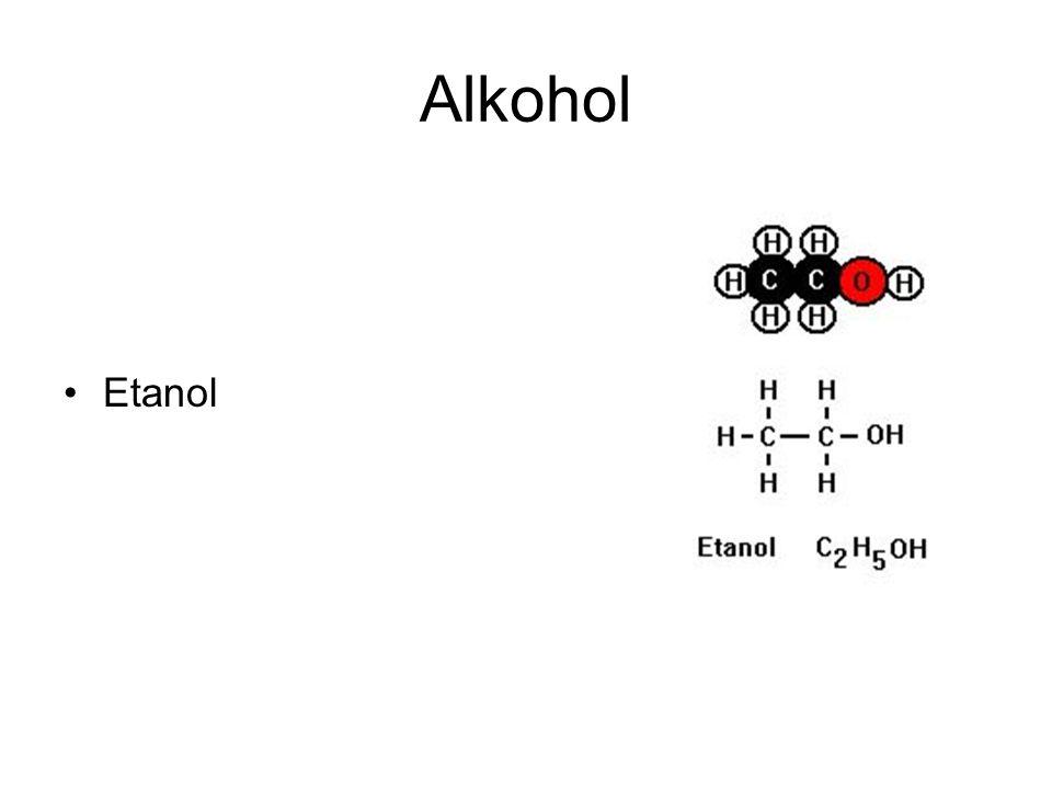 Alkohol Etanol