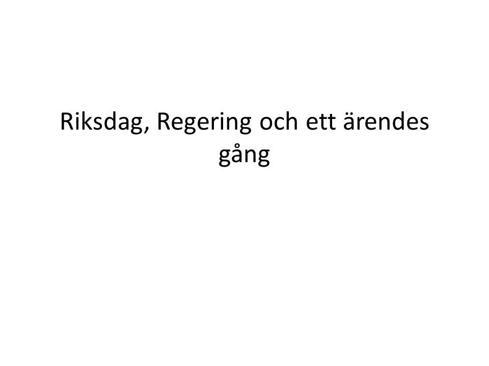 SverigesSveriges Riksdag Riksdagen är folkets främsta företrädare RF