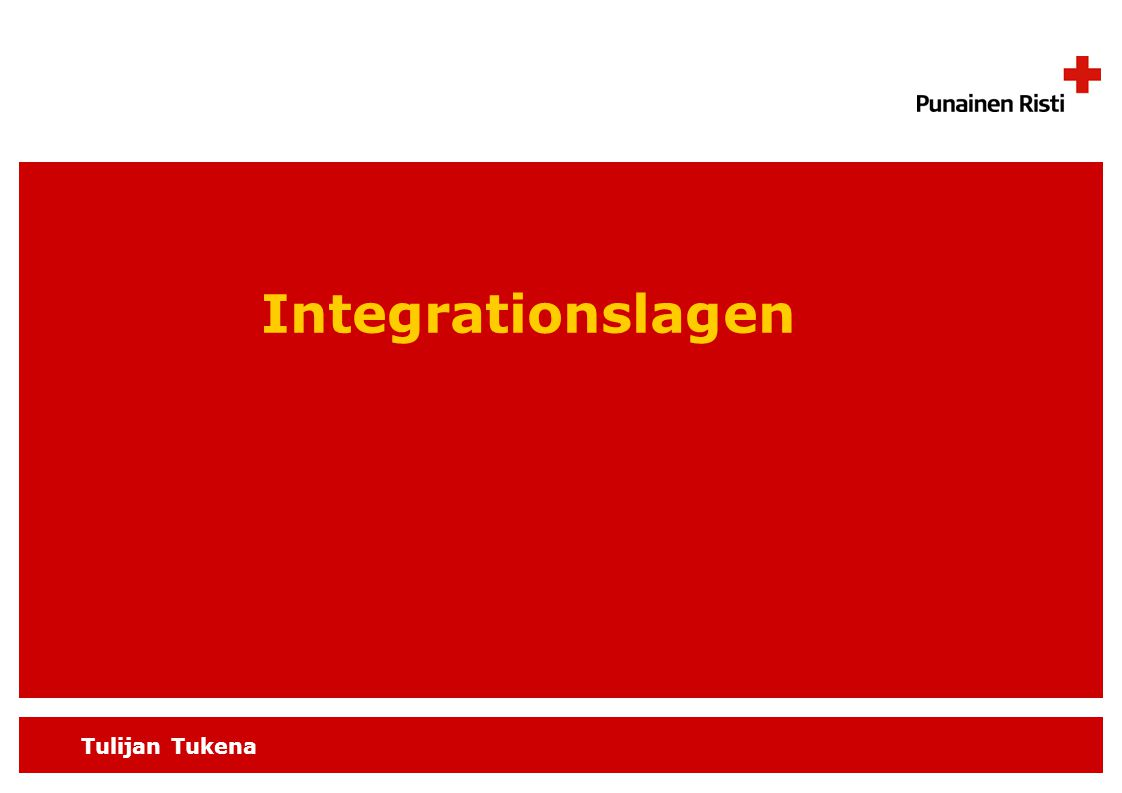 Tulijan Tukena Integrationslagen
