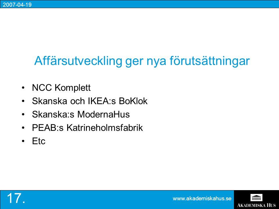 2007-04-19 www.akademiskahus.se 17.