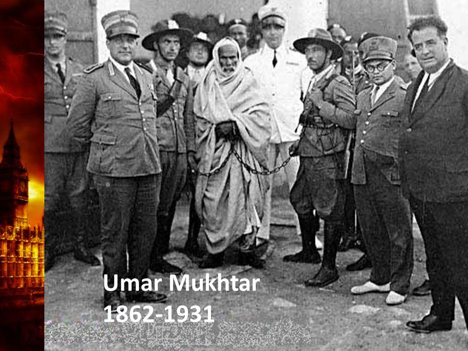 Umar Mukhtar 1862-1931