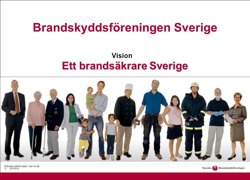 © Brandskyddsföreningens Service AB 31.
