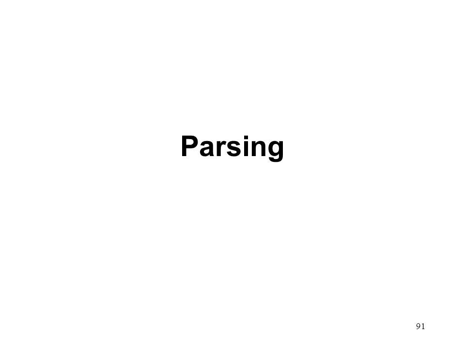 91 Parsing
