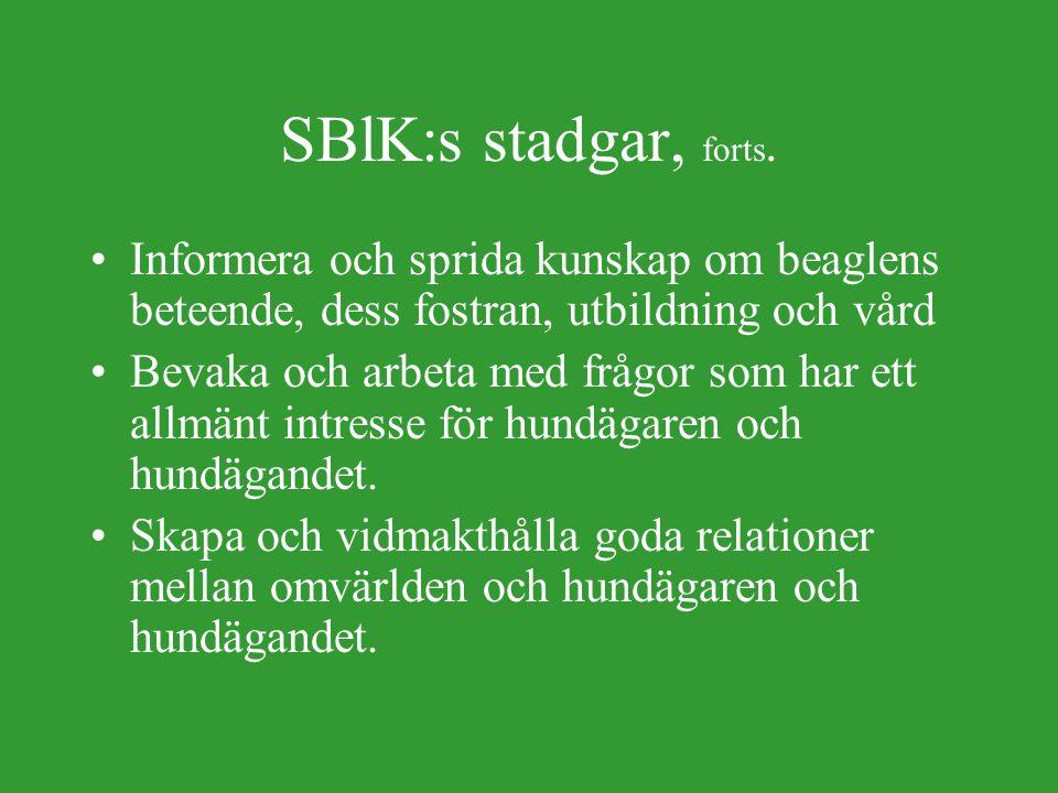 SBlK:s stadgar §1.
