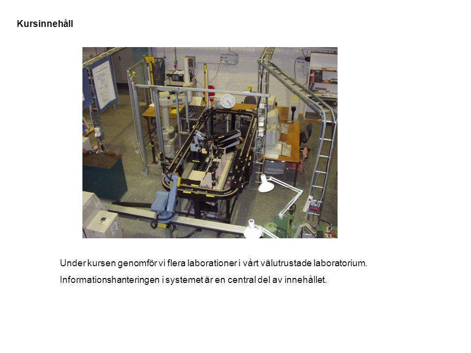 Under kursen genomför vi flera laborationer i vårt välutrustade laboratorium.