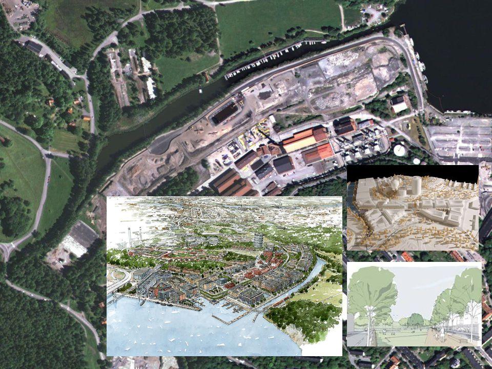 Bakgrund  Nybyggnation på tidigare industriell fastighet  Planerad användning: bostäder  Komplicerad föroreningssituation  Cancerogena PAH:er  Cy