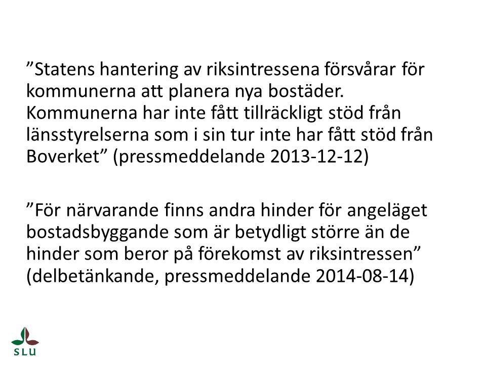 Olof Martinsson, Länsstyrelsen i Skåne län: Vad säger länsstyrelserna och vad är på gång just nu.