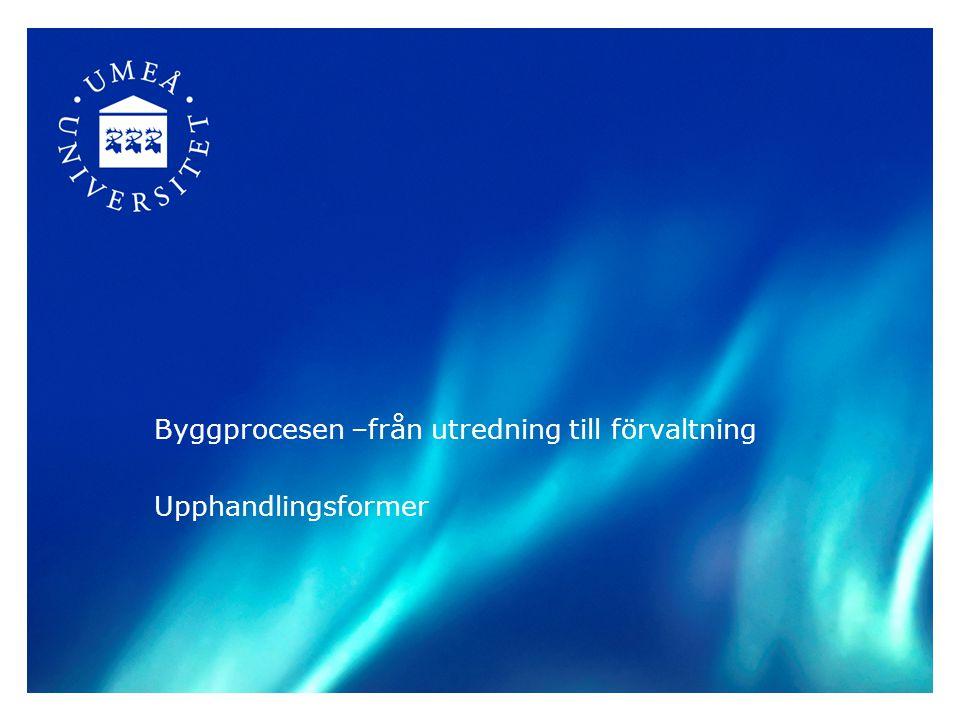 Byggprocessen Entrepenadformer Ersättningsformer Frågan är fri!!! 31 mars 2015 Sara Bäckström3