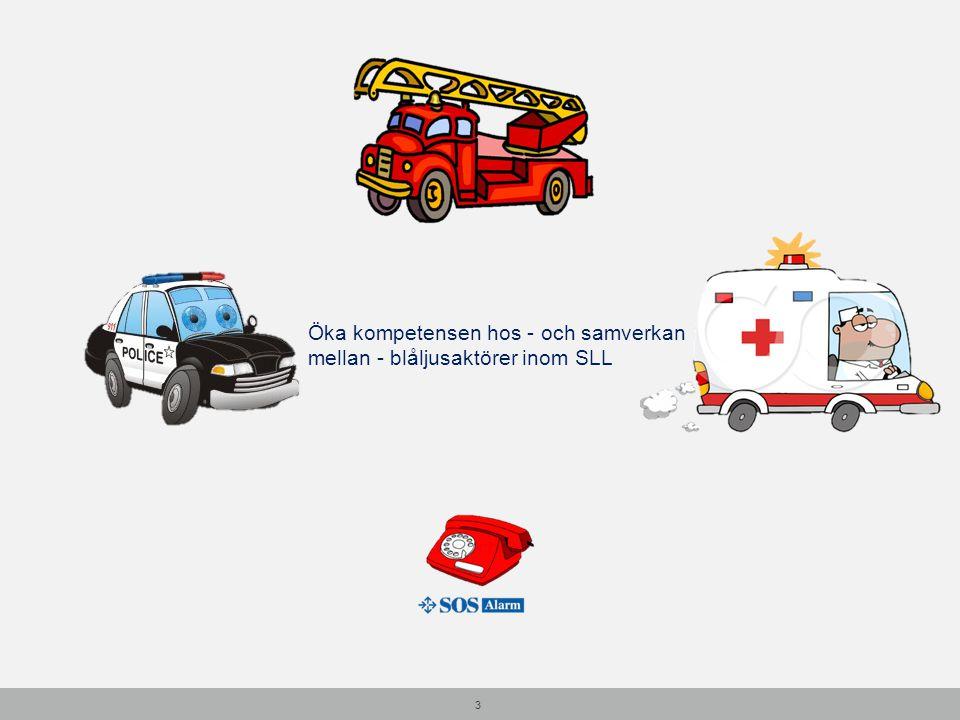 4 Ca 300 självmord/år i Stockholm Mellan 2000-3000 självmordsförsök Polisen: ca 8 akuta larm om självmordsförsök / dygn SOS-alarm: ca 5-6 larm om självmord/ självmordsförsök / dygn