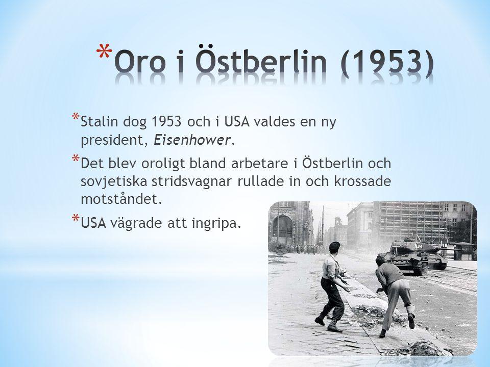 * Nikita Chrusjtjov blev Sovjetunionens ledare år 1955.