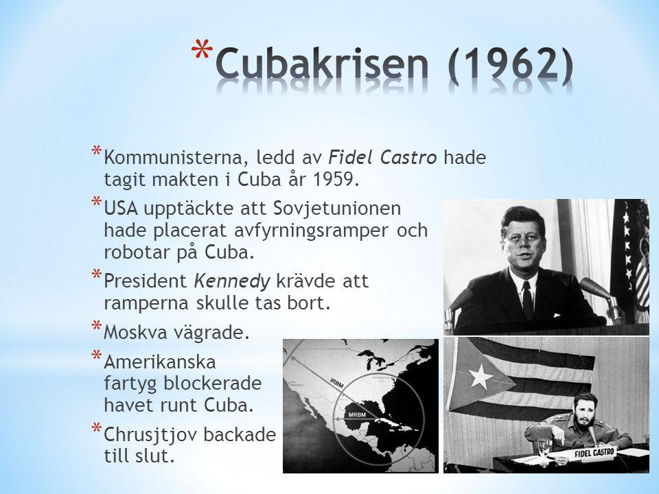* 1963 besökte president Kennedy Västberlin och höll ett välkänt tal.