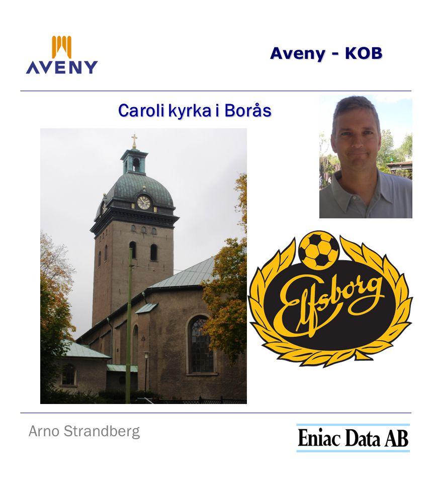 Aveny - KOB Arno Strandberg Caroli kyrka i Borås