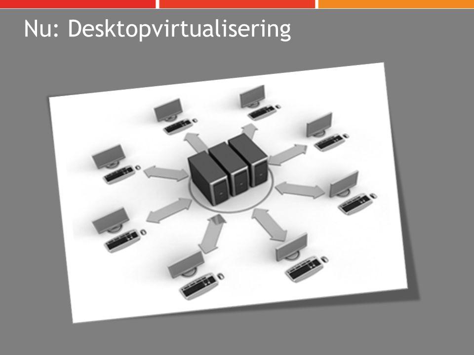 Nu: Desktopvirtualisering