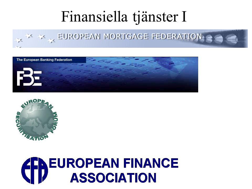 Finansiella tjänster I