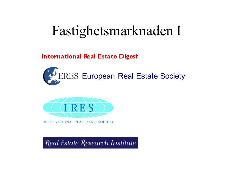 Fastighetsmarknaden I European Real Estate Society