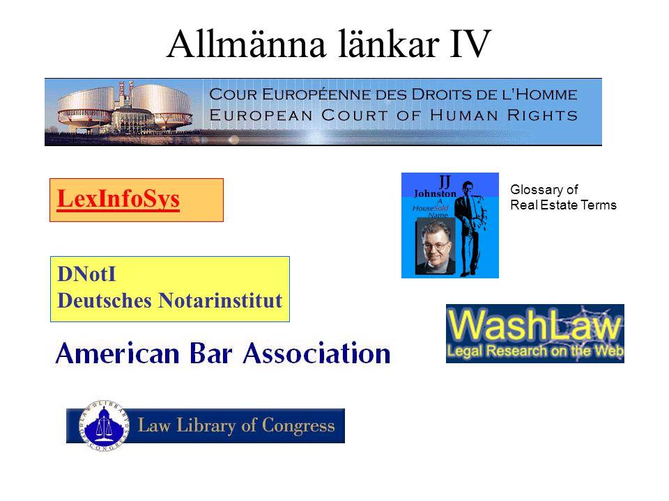 Särskilda länder I Danmark British and Irish Legal Information Institute