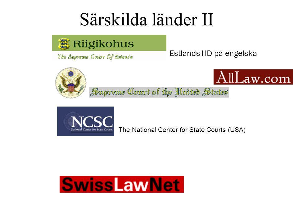 Särskilda länder III Ryssland (på engelska) CODE CIVIL Internet Law Library Germany Franska, engelska och spanska