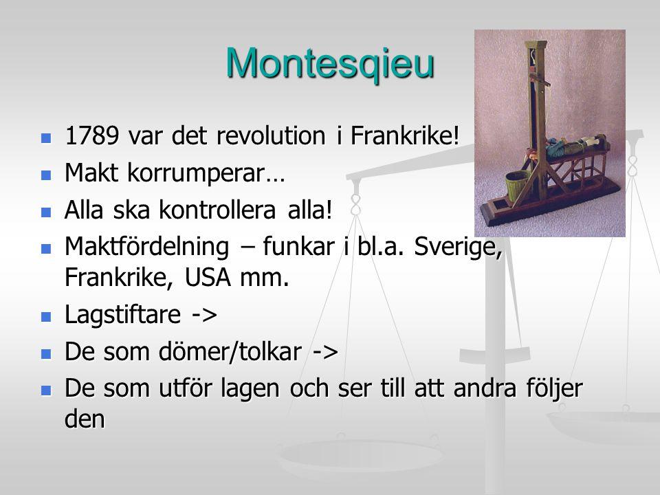 Våra grundlagar – grunden för svensk demokrati 1.Regeringsformen 1.