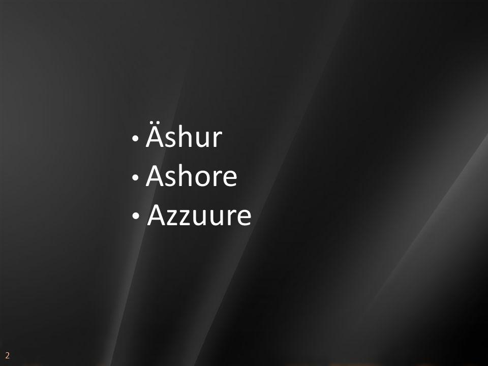 2 Äshur Ashore Azzuure