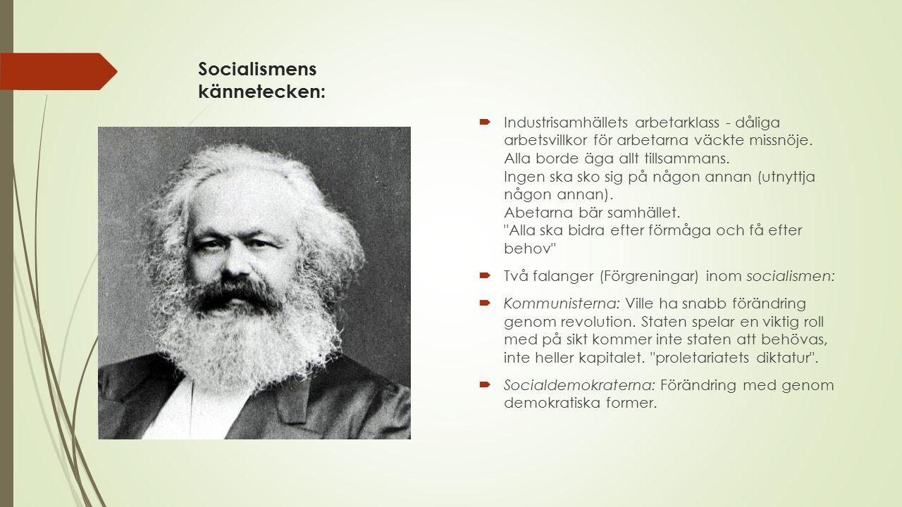 Ekologismens kännetecken:  Uppstod i slutet av 1900-talet som en reaktion på miljökonsekvenserna av industrialismen.