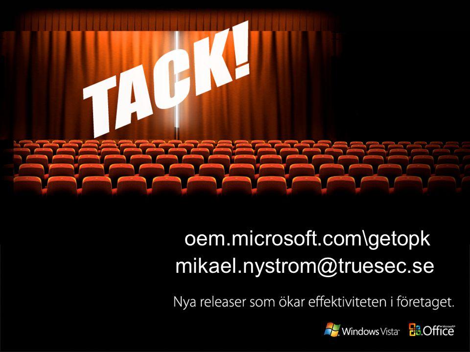 oem.microsoft.com\getopk mikael.nystrom@truesec.se
