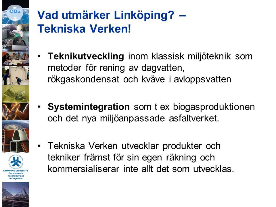 Vad utmärker Linköping. – Tekniska Verken.