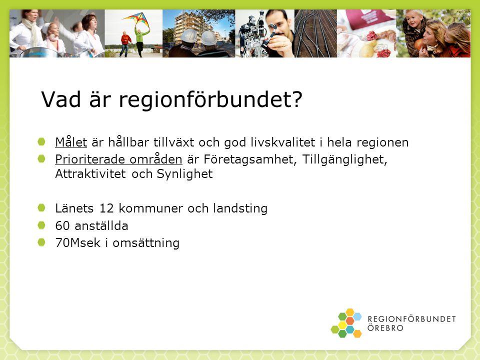 Vad är regionförbundet.
