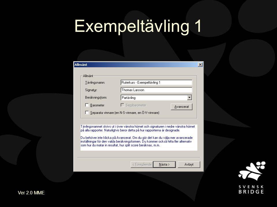 Ver 2.0 MME Exempeltävling 1