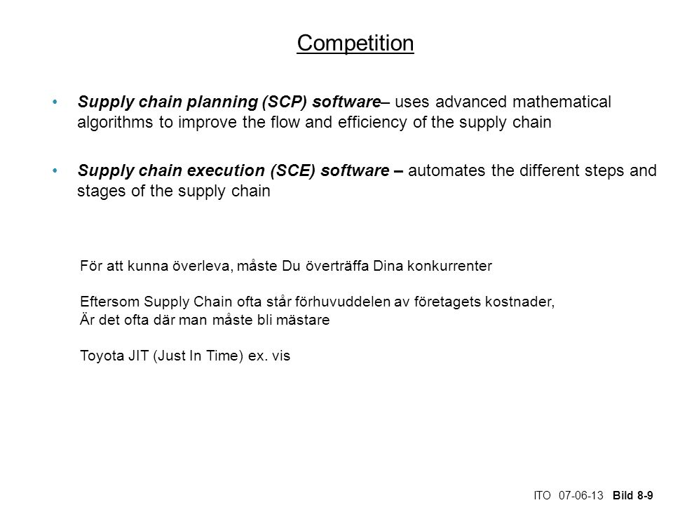 ITO 07-06-13 Bild 8-10 Competition SCP and SCE in the supply chain