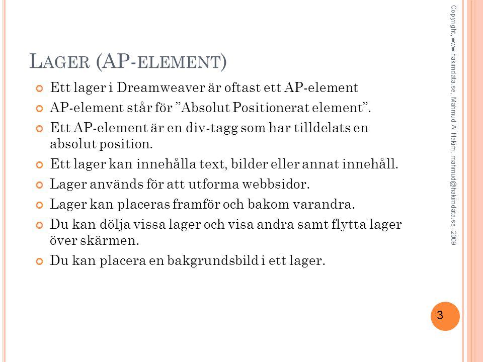 34 F RAGMENT (S NIPPETS ) Med fragment (Snippets ) kan du spara innehåll för att snabbt kunna återanvända det.