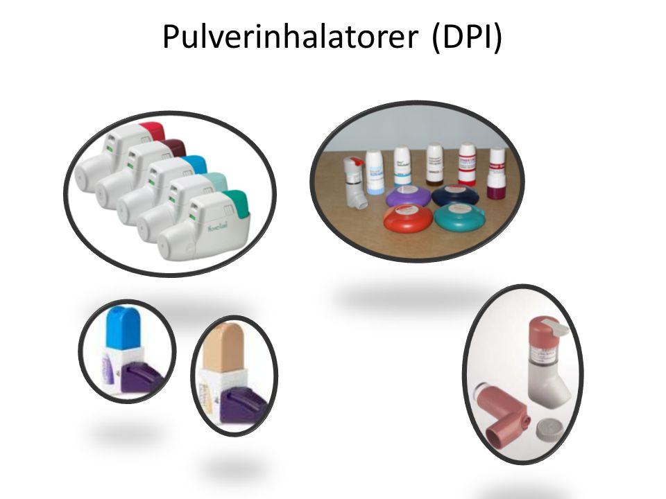 Pulverinhalatorer (DPI)