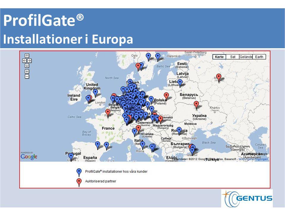 ProfilGate® Installationer i Europa