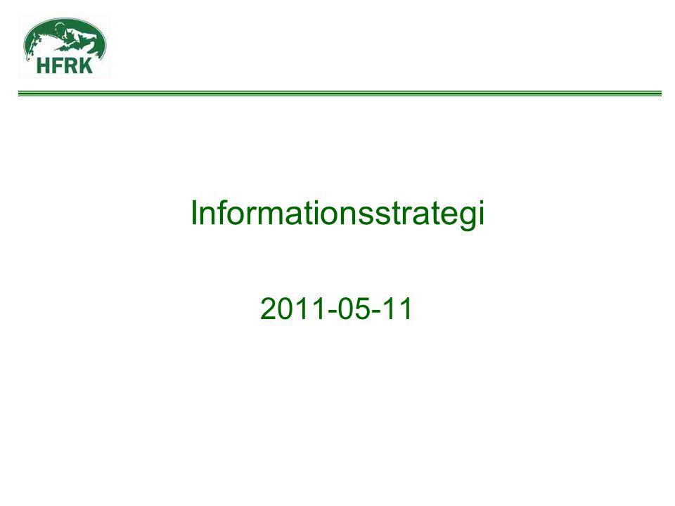 Informationsstrategi 2011-05-11