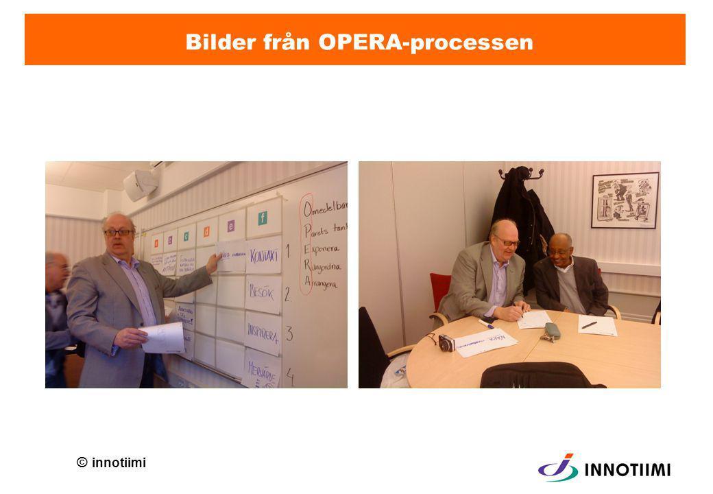 © innotiimi Bilder från OPERA-processen