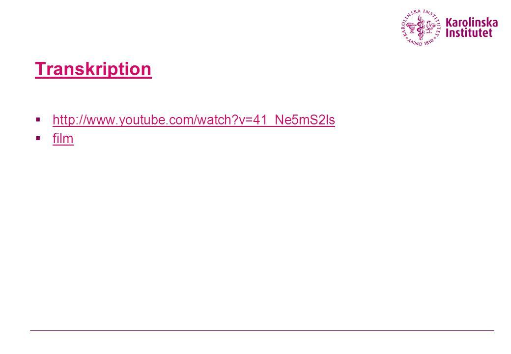 Transkription  http://www.youtube.com/watch?v=41_Ne5mS2ls http://www.youtube.com/watch?v=41_Ne5mS2ls  film film