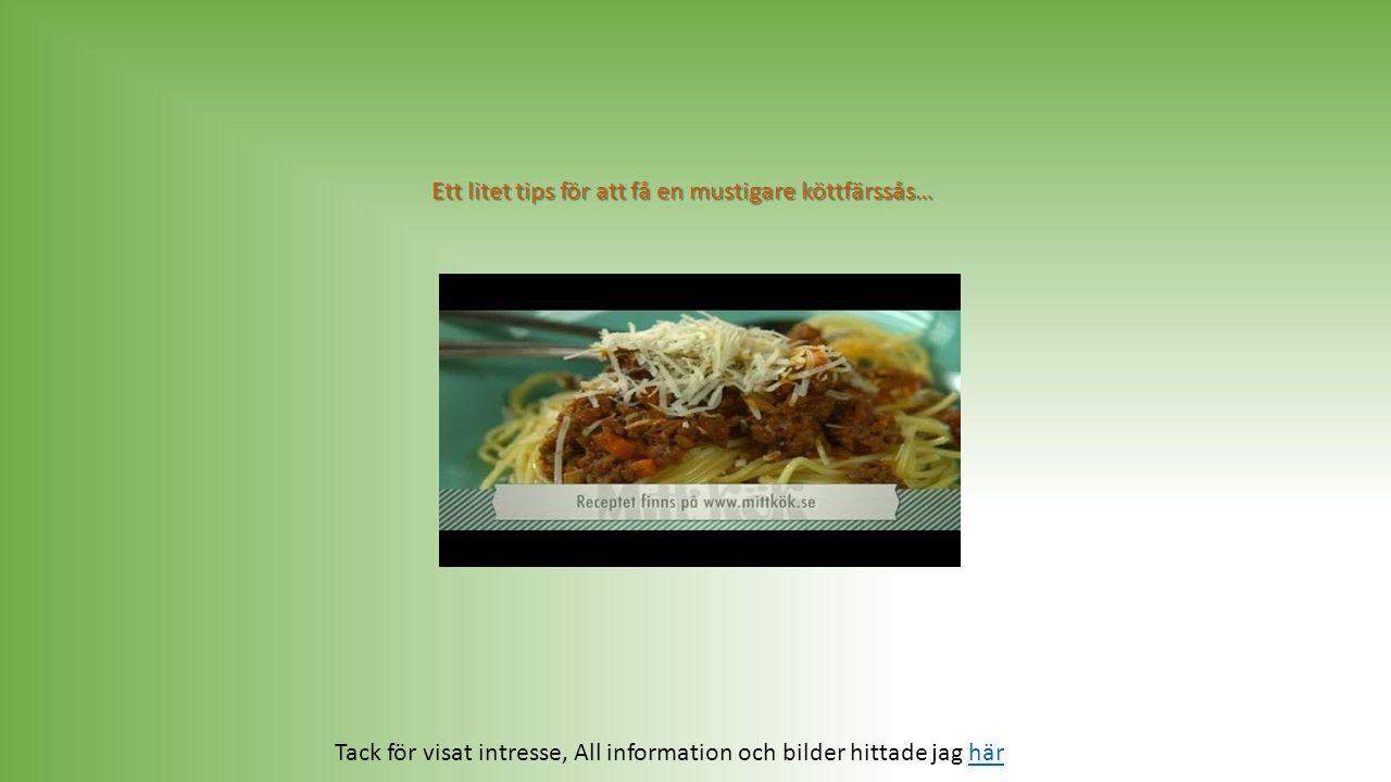 """Det vi svenskar helst vill ha på tallriken är alltså den """"italienska rätten"""" spaghetti med köttfärssås. Det som är spännande med köttfärssås - att var"""