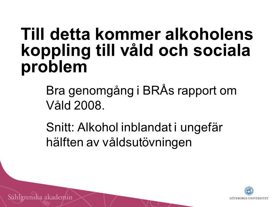 Bra genomgång i BRÅs rapport om Våld 2008.