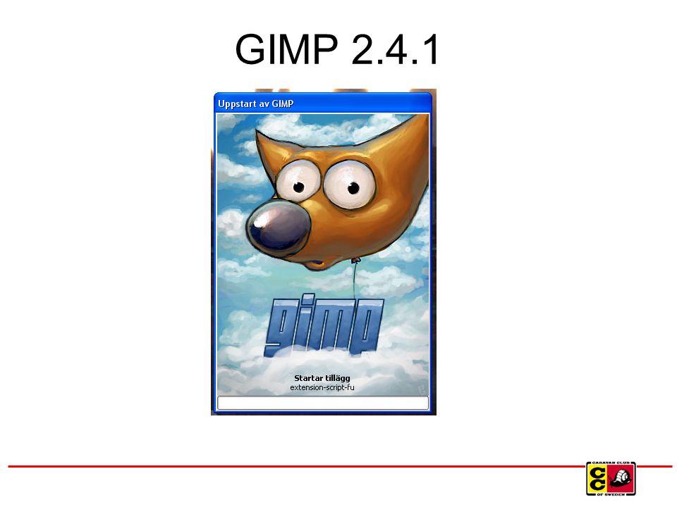 GIMP 2.4.1