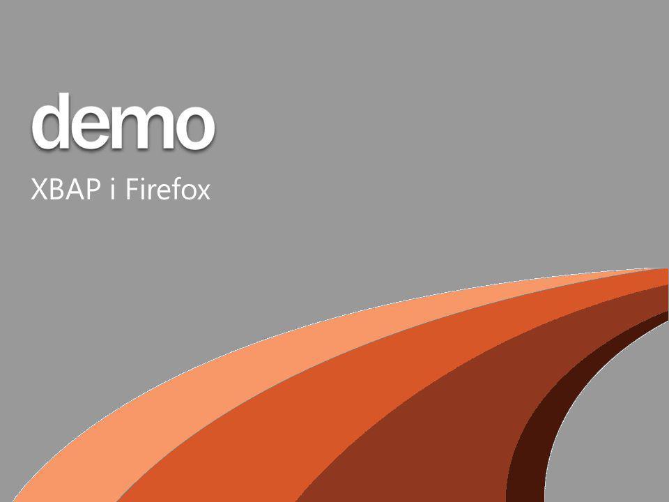 XBAP i Firefox