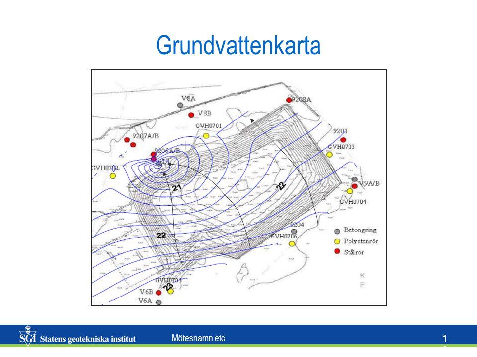 Mötesnamn etc 1313 Grundvattenkarta
