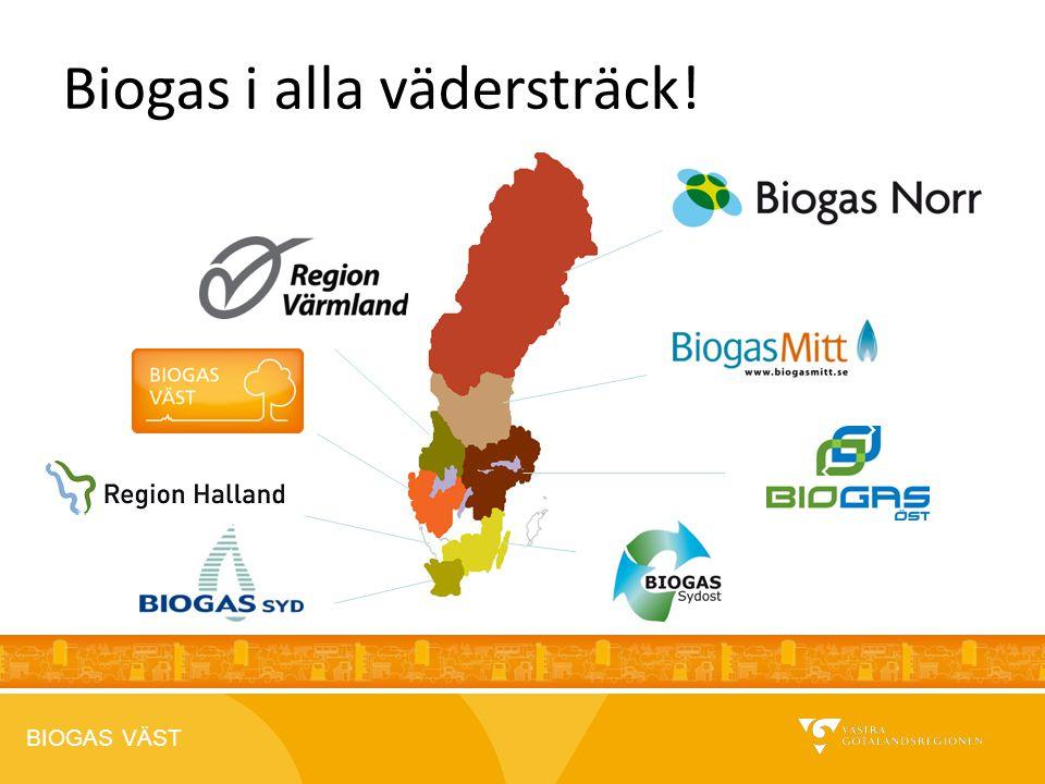 BIOGAS VÄST 2012-04-26 Biogas i alla vädersträck!