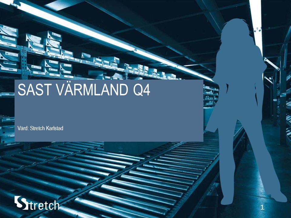 1 SAST VÄRMLAND Q4 Värd: Stretch Karlstad
